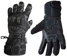 Polar Force Leather Waterproof Thermal Winter Motorcycle Motorbike Gloves