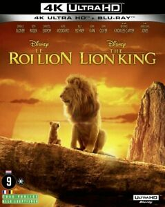 4K ULTRA HD  BLU-RAY - THE LION KING  (DISNEY)  LE ROY LION  2019 (NEW / SEALED