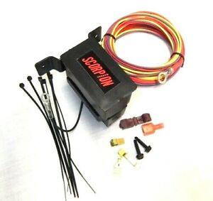 auxiliary fuse block with relay 30 amp max gxl pre-wired 2 circuit 1  ignition | ebay  ebay