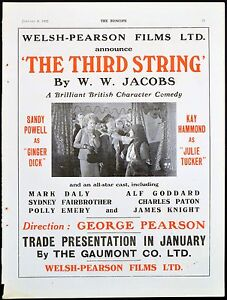 THIRD-STRING-1932-Sandy-Powell-Kay-Hammond-TRADE-ADVERT