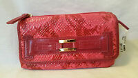 Rolf's Savvy Clutch Briani Rasberry With Removable Checkbook