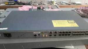 Cisco ASR A901 A901-6CZ-F-A AC  with IP BASE License & Serial No Sticker missing