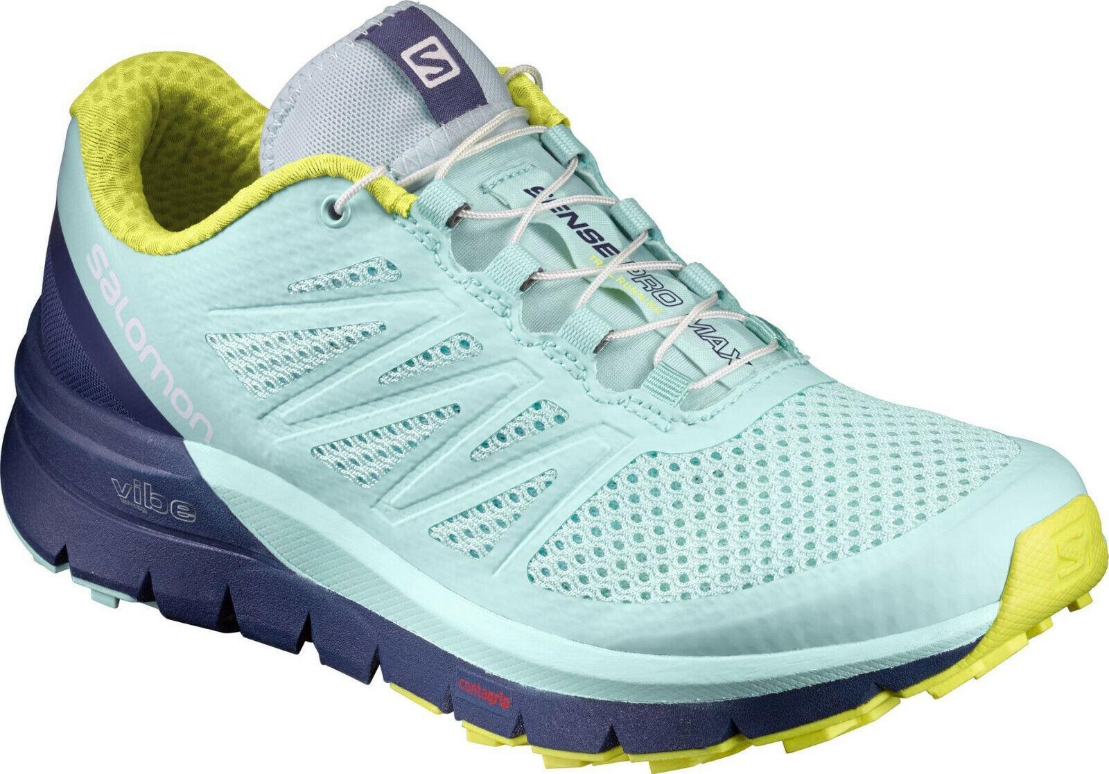 Salomon Sense Pro Max 3D Malla Trail Running Zapatos Zapatillas De Mujer Talla 11 halfzapatos