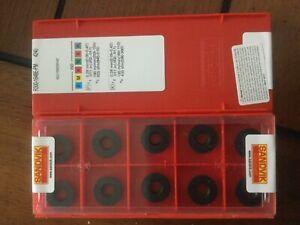 Al2O3 CVD TiCN Round Sandvik Coromant CoroMill 300 Insert for milling TiN Neutral Hand R300-1648E-PM 4340 4340 Grade Carbide