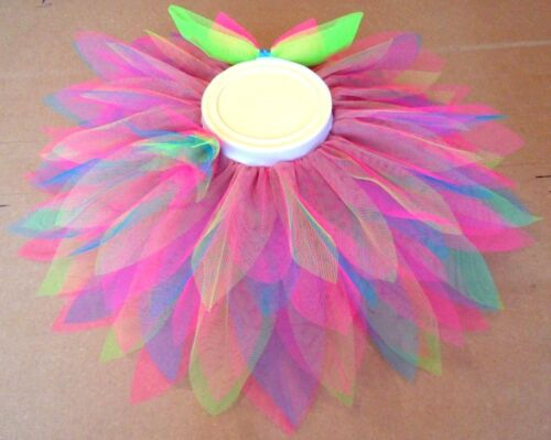 """Pretty as a Flower Tutu for Toddlers Elasticated Waist 15/"""" to 30/""""  Halloween"""