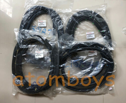 MITSUBISHI Chrysler Colt Galant A112 A114 A115 DOOR SEAL RUBBER WEATHERSTRIP