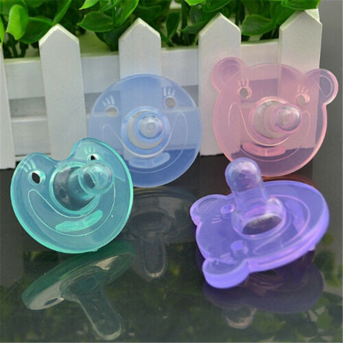 Newborn Kids Baby Orthodontic Dummy Pacifier Silicone Teat Nipple Soothers new