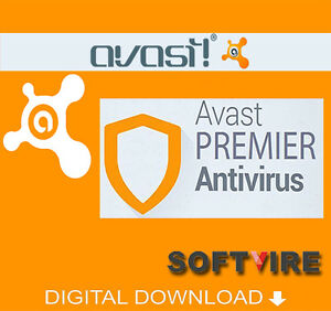 Avast Premier Antivirus 2017 - 3 PC 3 Year License Key Only