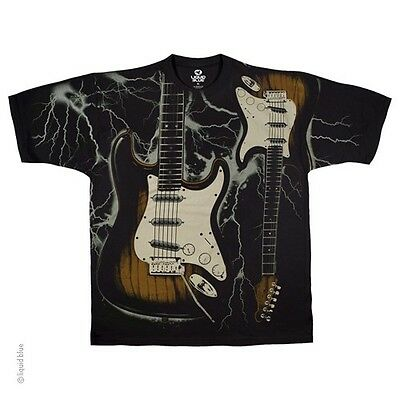 New ELECTRIFIED GUITAR Original  LICENSED MUSIC T  Shirt  ELECTRIC
