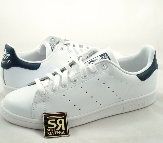 check out 41c4c bf440 New adidas Originals Mens Stan Smith Shoes Running White/New Navy M20325  Tennis