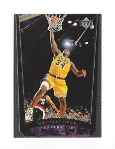 1998-99 UPPER DECK SHAQUILLE O NEAL  76 LOS ANGELES LAKERS  036936ba4