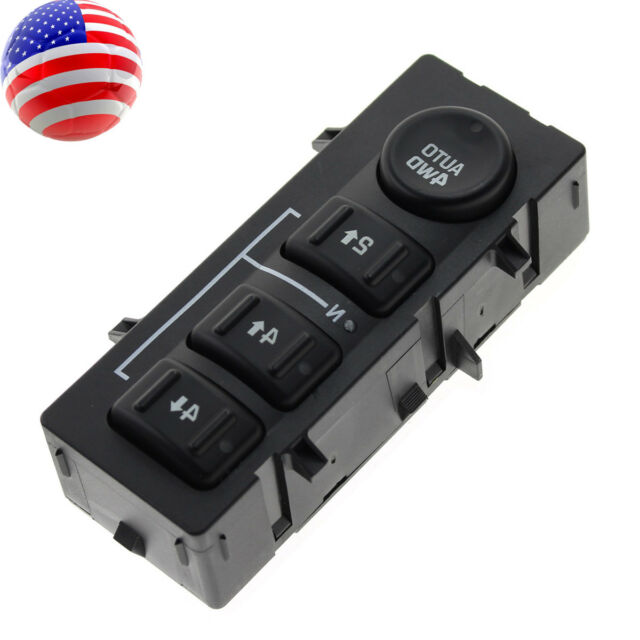 4wd Switch 4x4 Transfer Case Selector Dash For Chevrolet Tahoe