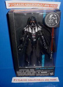 New Authentic Hasbro 2014 Star Wars Black Series 6 Inch #02 DARTH VADER Figure