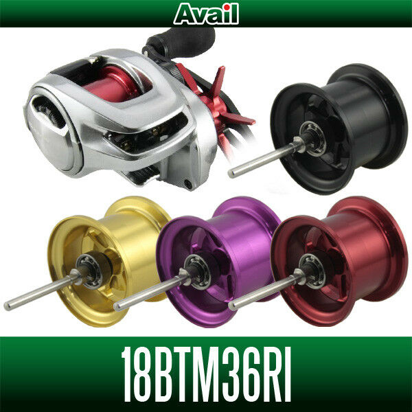 Avail SHIMANO Spool Fishing 18BTM36RI for 18 Bantam MGL Bass Fishing Spool CHAMPAGNE GOLD 6a1a7d