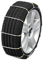 155/80-12 155/80r12 Tire Chains Cobra Cable Snow Ice Traction Passenger Vehicle