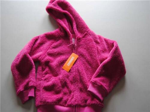 Gymboree Play By Heart Soft Furry Fuzzy Jacket Hoodie Pink Size 5-6 Small NEW