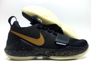 newest 95fc5 a9535 Image is loading NIKE-KYRIE-3-ID-BLACK-METALLIC-GOLD-GLOW-