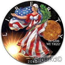 2015 SILVER EAGLE SPACE VENUS 1 Oz 0.999 SILVER COLOR MINTAGE 100 PCS WITH COA
