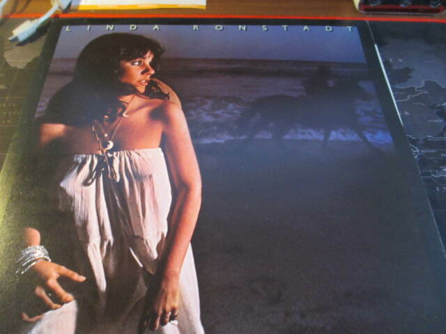 Linda Ronstadt - Hasten Down The Wind   -  LP Vinyl Record