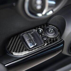 Carbon-Fiber-for-Mini-Cooper-F56-Window-Lifter-Switch-Control-Panel-Cover-Trim