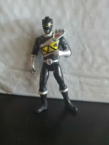 "Power Rangers  Dino Steel Black Ranger 3"" Figure"