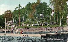 Waegwalric Club Bathing North West Arm Halifax Nova Scotia - Prelinen 1910 Good