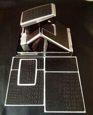 Polaroid SX-70 PolaSkinz HornBack Black Napa Cowhide Replacement Skinz SLR680