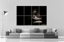 BASKET AIR JORDAN CLASSIC  Poster Grand format A0 Large Print