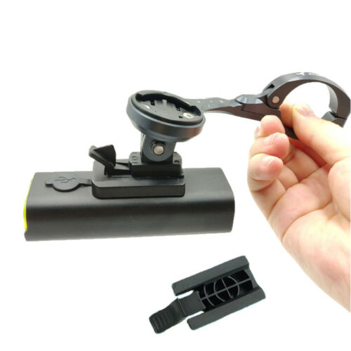 Bicycle Front Light Flashlight Holder Adapter Computer Mount Bracket For CATEYE