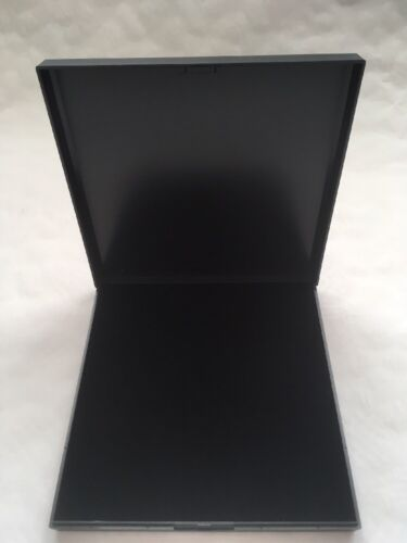 NECKLACE GIFT BOX JEWELLERY DISPLAY BLACK LARGE COLLARETTE
