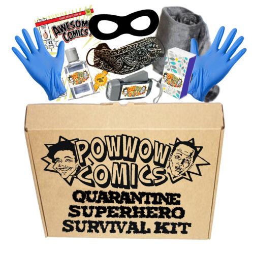Quarantaine de super-héros kit de survie-Pow Wow Comics