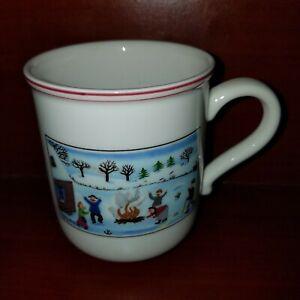 VILLEROY & BOCH china Design Naif Christmas pattern Mug 3 ...