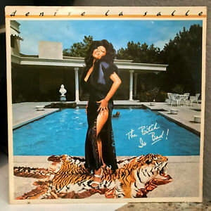 """DENISE LASALLE - The Bitch Is Bad (AB-1027) 12"""" Vinyl Record LP- VG (Cheesecake)"""