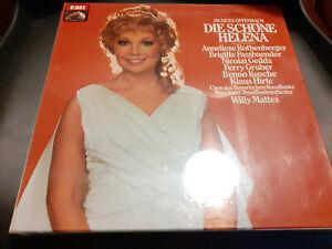 Doppel Vinyl Box -  Jaques Offenbach - Die shöne Helena - NEU OVP