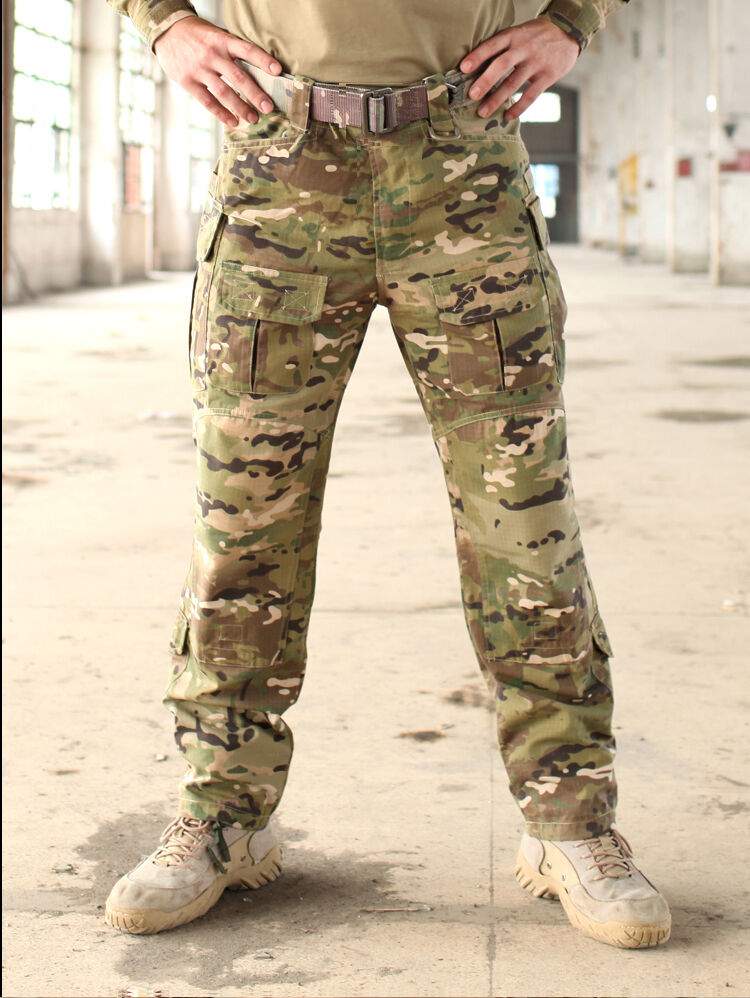 Army Combat cargo Uniform Pants trousers Military Airsoft GEN3 MultiCam Camo BDU