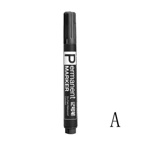 Pen Große Kapazität Schwarz Rot Blau Kunststoff Ölig-Wasserdicht-Permanent