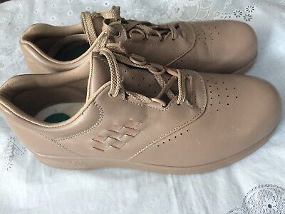 Lace Up Walking Oxfords Women's Size 7 N Structural Disabilities Confident Sas 'free Time' Beige-leather