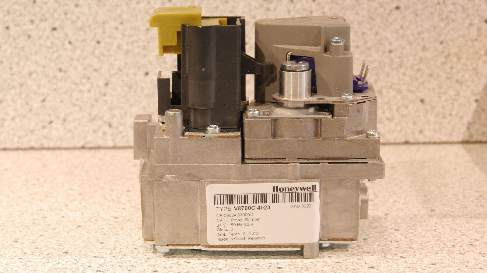 Gasarmatur Gaskombiregler Honeywell V8700 C 4023U NEU OVP