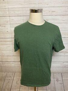 L New Men/'s Size Banana Republic Dark Green Soft Wash Crew Neck T-Shirt NWOT