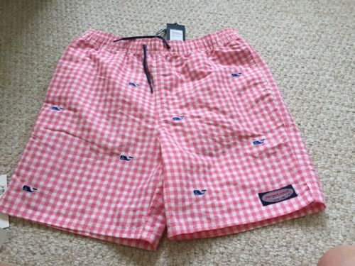 Bathing L Nwt Gingham Chappy Micro Trunks Boys Suit Vines Size Vineyard nrw6xgn