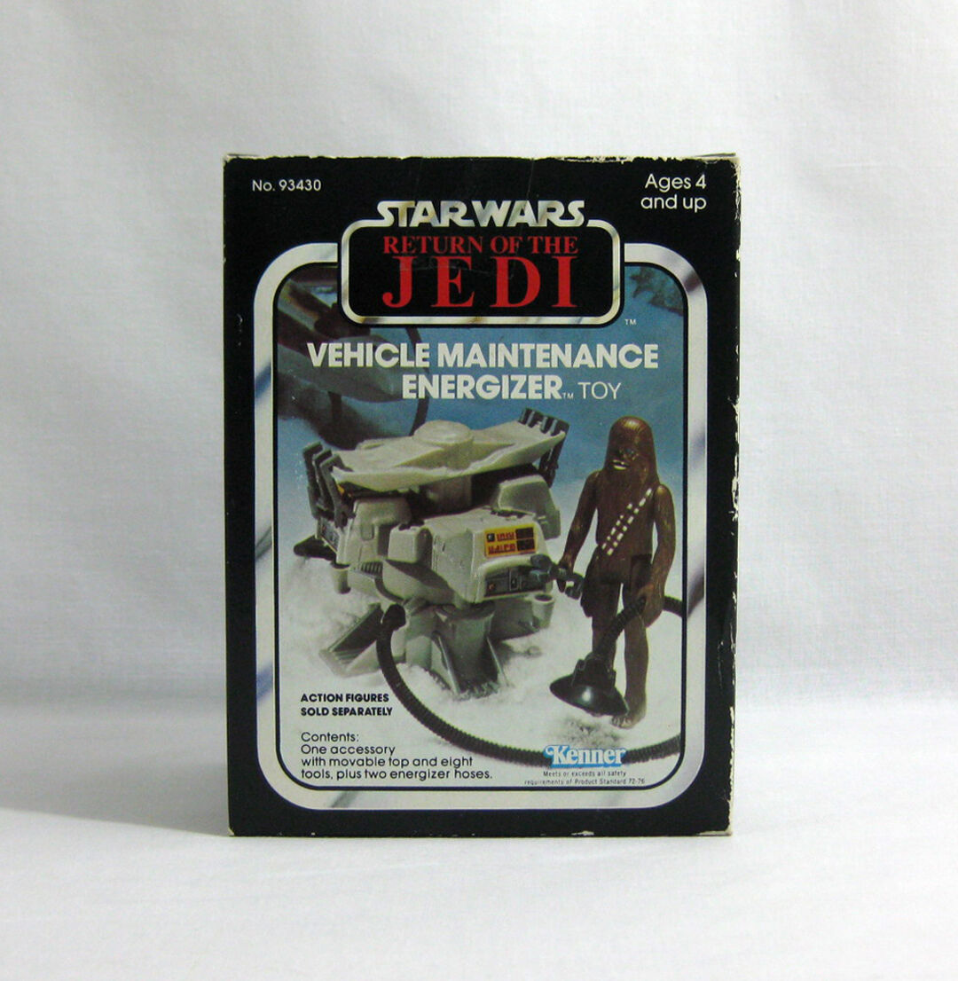 NEW 1983 Vintage Star Wars ✧ Vehicle Maintenance Energizer ✧ Kenner ROTJ MISB