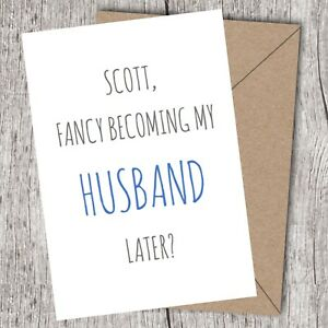 on our wedding day card to my husband groom can be personalised