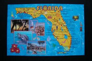 Details about 171) FLORIDA STATE MAP ~ SEA WORLD ~ KEY LARGO ~ TARPON on cape horn on world map, marco island on world map, malaya on world map, manchester england on world map, cabo on world map, marathon on world map, sahara on world map, casablanca on world map, miami on world map, florida keys map, k west florida map, wyoming on world map, malabar on world map, largo fl map, florida on world map, naples on world map, everglades on world map, red river on world map, new york city on world map,