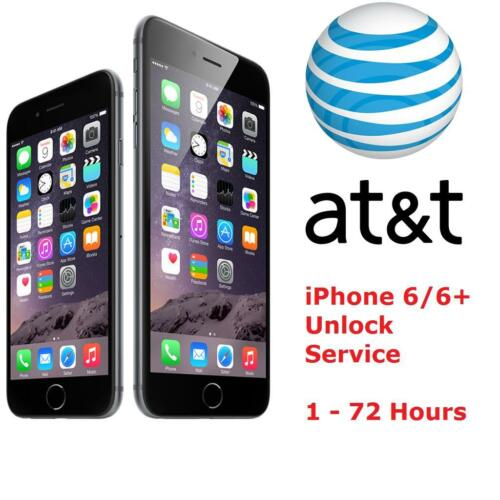 iPhone 6 6 AT/&T FACTORY UNLOCK CODE SERVICE 100/% GUARANTEE CLEAN IMEI FAST