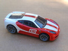 2010 Hot Wheels Speed Machines FERRARI F430 CHALLENGE Loose WHITE RED