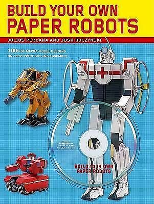 """AS NEW"" Build Your Own Paper Robots: 100s of Mecha Model Designs on CD to Print"