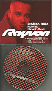 Details about RAYVON Stallion Ride w/2 RARE REMIXES PROMO Radio DJ CD  single 1997 USA MINT