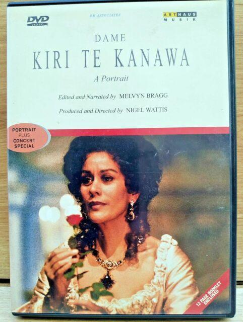 Dame Kiri Te Kanawa A Portrait Concert Special DVD 2001 Melvyn Bragg Wattis RARE