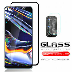For OPPO Realme 7 /7 Pro Camera Lens Film +9H Tempered 3D Glass Screen Protector