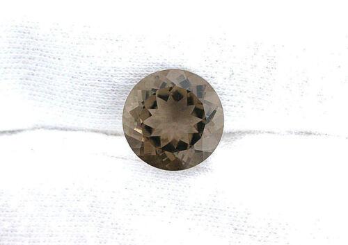 12mm Round AAA Natural Brazillian Smoky Quartz Gem Stone Gemstone EBS639
